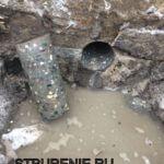 Алмазное сверление под канализационные трубы