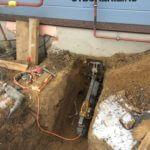 Бурение отверстий в бетоне под трубы