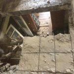 Демонтаж плиты перекрытия