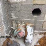 Алмазное сверление бетонной стены