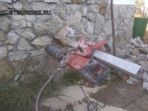 Бурение отверстий в бетоне г. Подольск