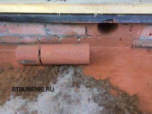 Сверление отверстий в кирпичных стенах