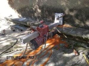 Бурение отверстий в бетоне в Коломне