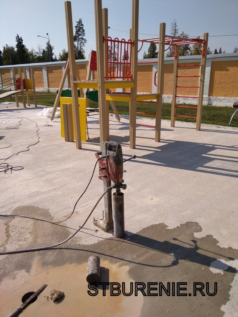Сверление бетона в Подольске