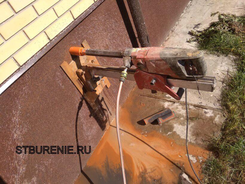 Бурение бетона в Видном