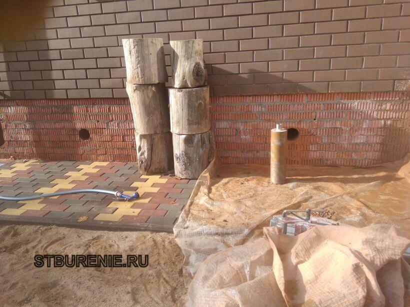 Алмазное бурение бетона в Кашире