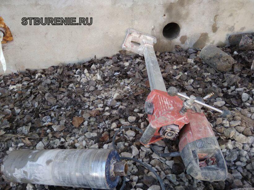 Алмазное бурение отверстий в Серпухове